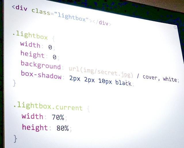 Efecto sombras estilos CSS·