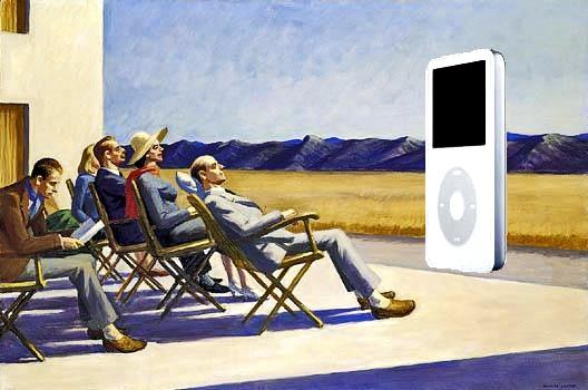 Obra maestra de pintura de Edward Hopper
