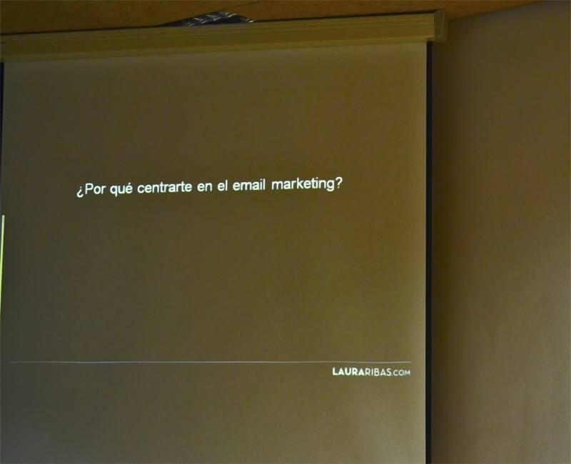 Laura Rivas habla de SEO en el  V IDay Alicante