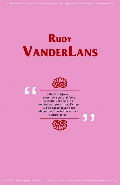 Rudy VanderLans diseño gráfico Revista Emigre