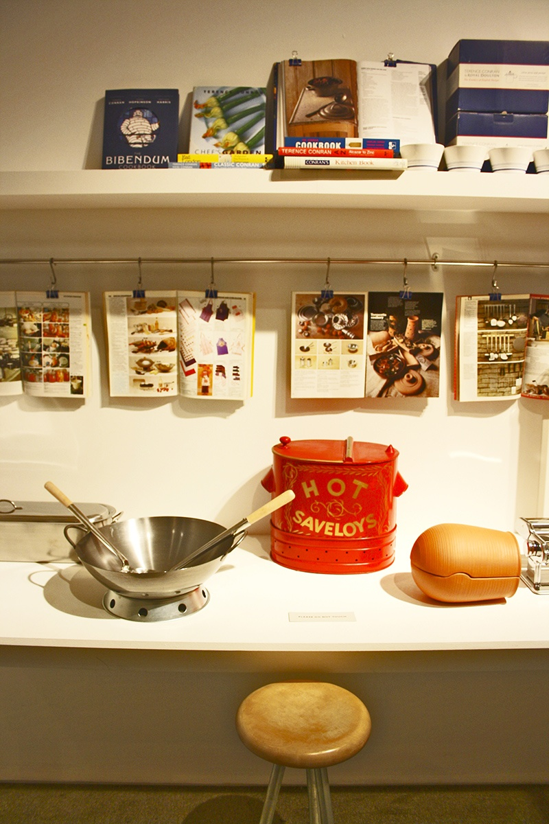 Objetos e iconos de masas London Design Museum imagen